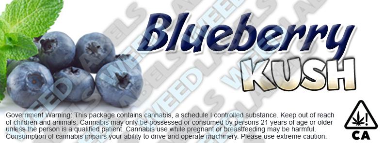 CAwater BLUEBERRY KUSH