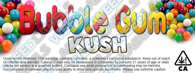 CAwater BUBBLE GUM KUSH
