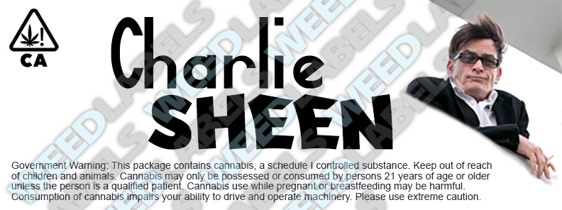 CAwater CHARLIE SHEEN