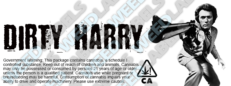CAwater DIRTY HARRY