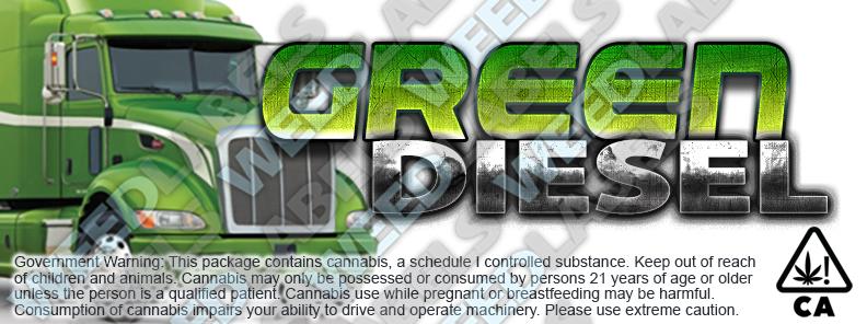 CAwater GREEN DIESEL