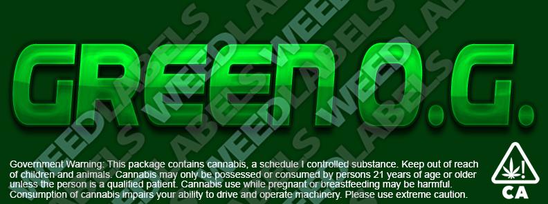 CAwater GREEN OG