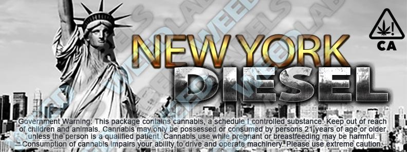 CAwater NEW YORK DIESEL