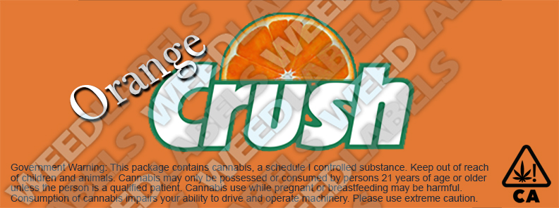 CAwater ORANGE CRUSH