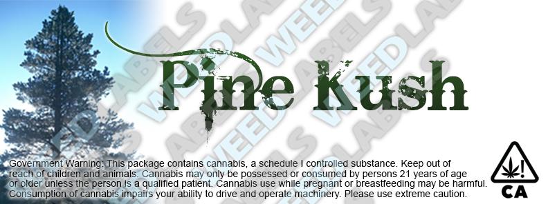 CAwater PINE KUSH