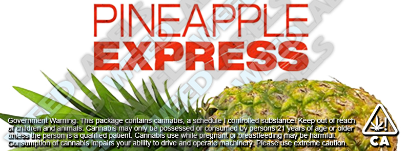 CAwater PINEAPPLE EXPRESS