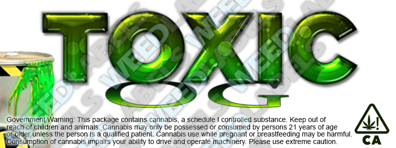 CAwater TOXIC OG
