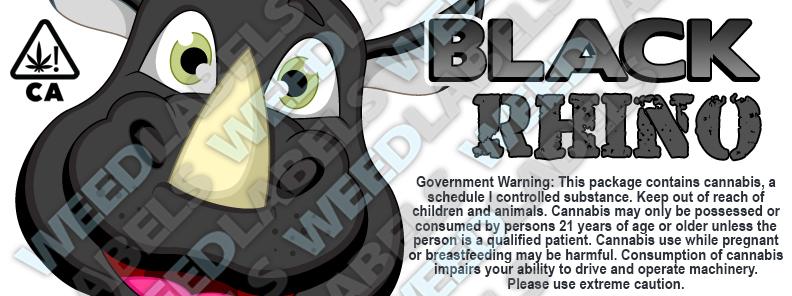 CAwater - BLACK RHINO