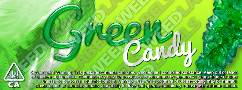 CAwater - GREEN CANDY