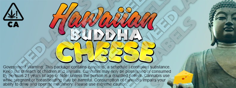 CAwater - HAWAIIAN BUDDHA CHEESE