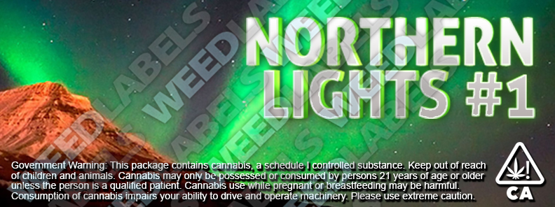 CAwater - NORTHERN LIGHTS 1