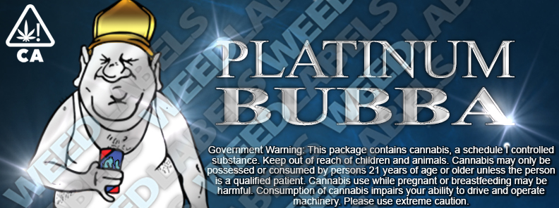 CAwater - PLATINUM BUBBA