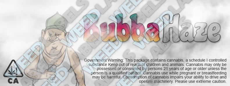 CAwater - BUBBA HAZE