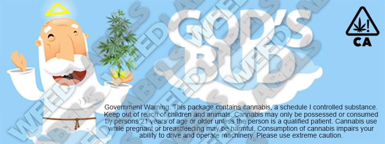 CAwater - GODS BUD