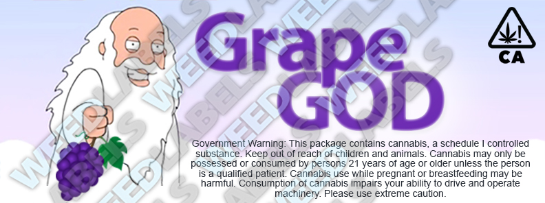 CAwater - GRAPE GOD