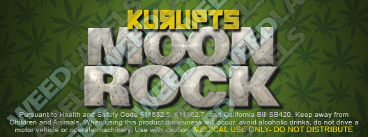 CAwater - KURUPTS MOON ROCK