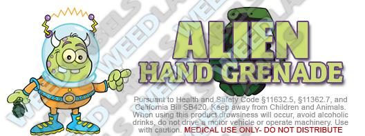 CAwater - ALIEN HAND GRENADE