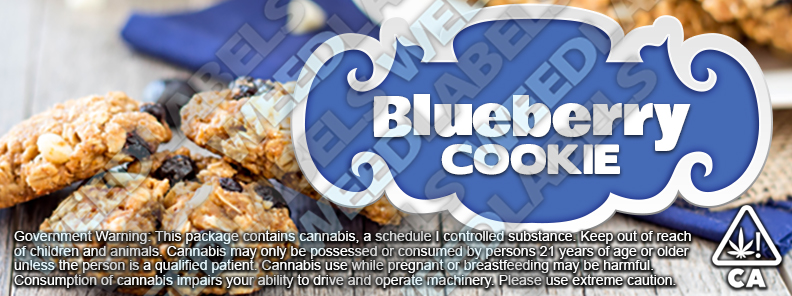 CAwater - BLUEBERRY COOKIE