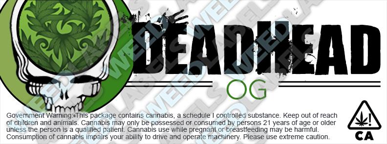 CAwater - DEADHEAD OG